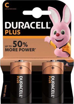 Duracell Plus C batterij