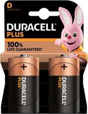 Duracell D batterij