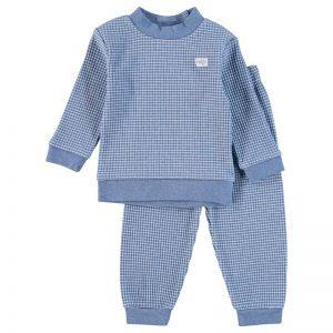 Feetje Pyjama Blauw Melange