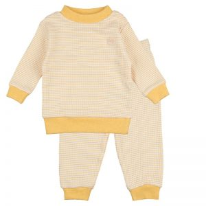 Feetje Pyjama Okergeel