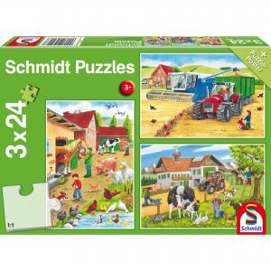 Schmidt Puzzel Op de Boerderij