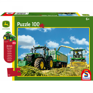 Schmidt Puzzel Tractor met Hakselaar