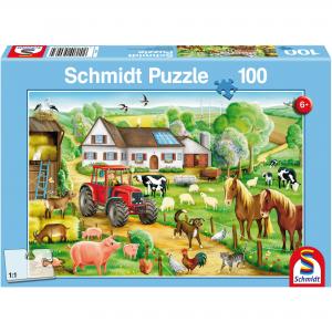 Schmidt Puzzel Vrolijk Boerenerf