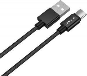 V-Tac USB kabel Type C Zwart