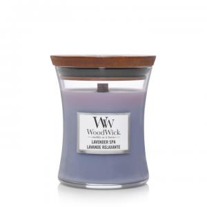 WoodWick Medium Candle Lavender Spa