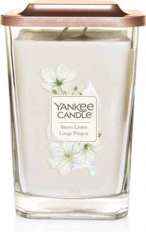 Yankee Candle Large Vessel Sheer Linen