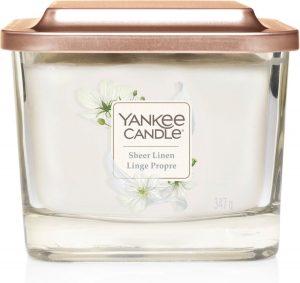 Yankee Candle Medium Vessel Sheer Linen