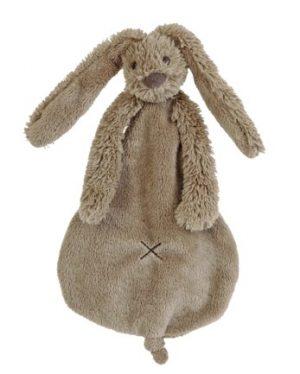 Happy Horse Knuffeldoekje Rabbit Richie Bruin