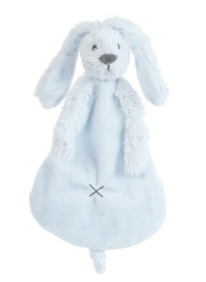 Happy Horse Knuffeldoekje Rabbit Richie Lichtblauw