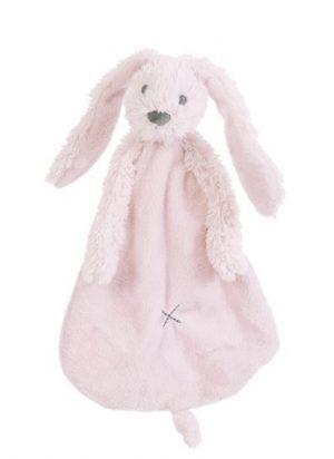 Happy Horse Knuffeldoekje Rabbit Richie Lichtroze
